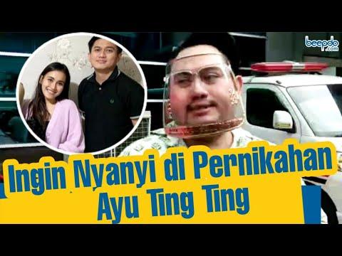 Nassar Ingin Menyanyi di Pernikahan Ayu Ting Ting dengan Adit Jayusman