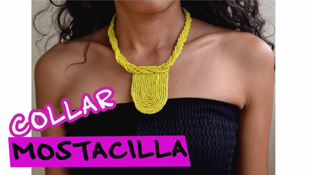 34ecefd6173c DIY -Collar Mostacilla - Bisutería Moda