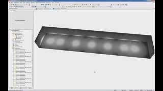 DIALux 4: ВИО №2 Создаем аварийное освещение и несколько сцен освещения