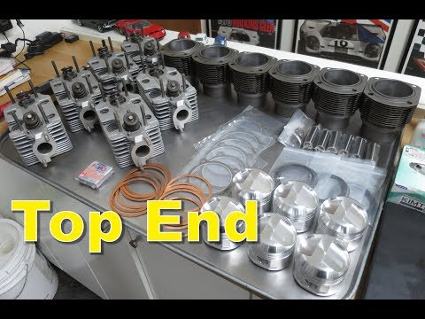 Engine Rebuild Part 2: Top End, Pistons, Cylinders & Heads. 1969 Porsche 911T. The Canary Files.