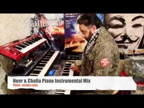 Heer & Challa Piano instrumental