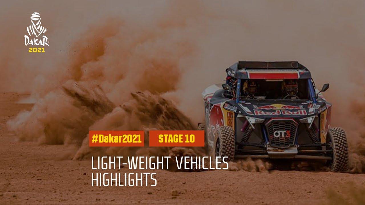 #DAKAR2021 - Stage 10 - Neom / AlUla - Light Weight Vehicle Highlights