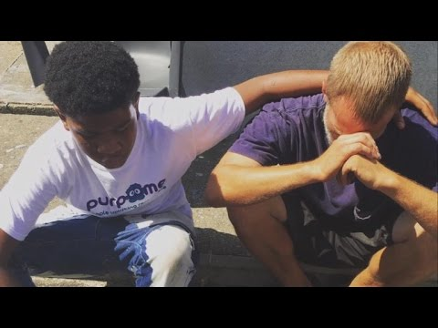 Why This 14-Year-Old Boy Gave His Brand New Sneakers To a Homeless Man