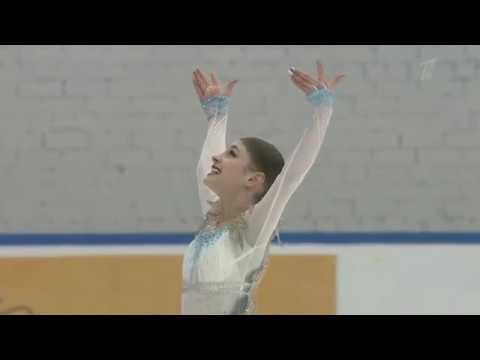 Alena KOSTORNAIA Short Program 2019 Russian Junior National Championships