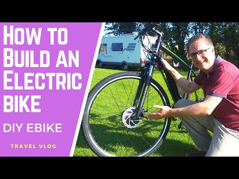 I Build Two ELECTRIC BIKES