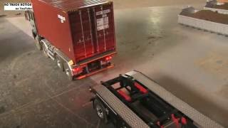 RC Truck Hook Lifter MAN 8x8 with Container - made by ScaleART