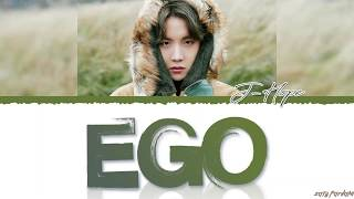 Gambar cover BTS J-HOPE - 'EGO' Lyrics [Color Coded_Han_Rom_Eng]
