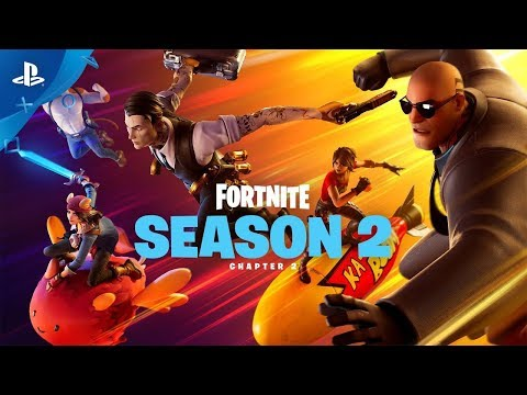 Fortnite | Chapter 2 Season 2 Top Secret Launch Trailer | PS4