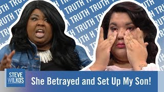 She Betrayed and Set Up My Son! | The Steve Wilkos Show