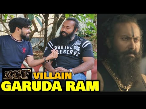 KGF Chapter 1 VILLAIN Garuda In Conversation With FilmiFever | Ramachandra Raju | Yash | Bengaluru