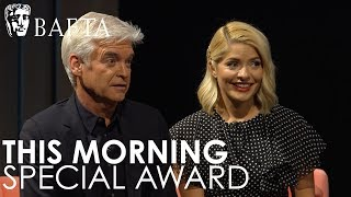 This Morning receive a BAFTA Special Award