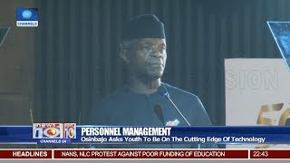Osinbajo Asks Youth To Be On The Cutting Edge Of Technology 19/11/18 Pt.3 |News@10|