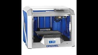 Dremel 3D40 3Д 3D Принтер - Видео -1.  Подготовка. Настройка. Видео урок.