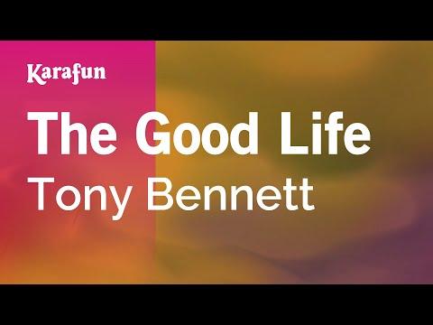 Karaoke The Good Life - Tony Bennett *