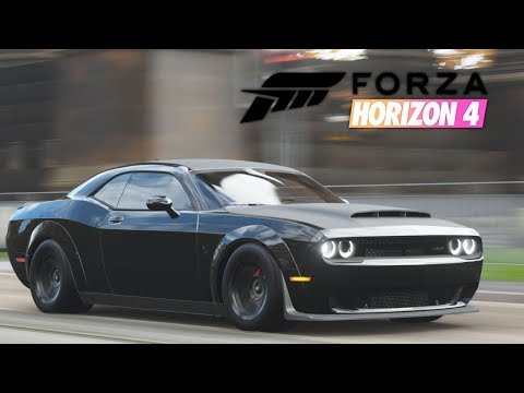 1,123HP Dodge Demon vs The Colossus | Fully Built #7 | Forza Horizon 4 thumbnail