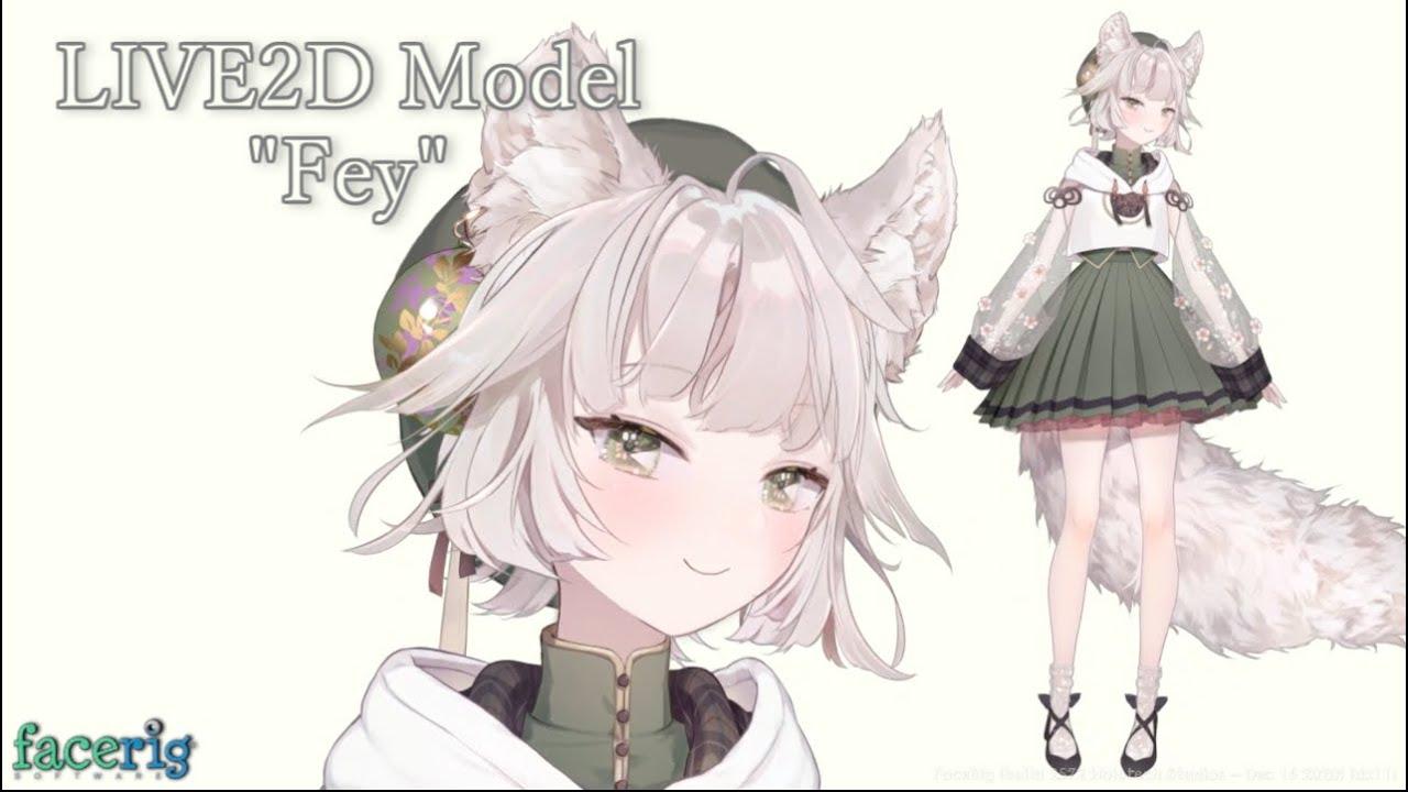 """FaceRig Model """"Fey"""""""