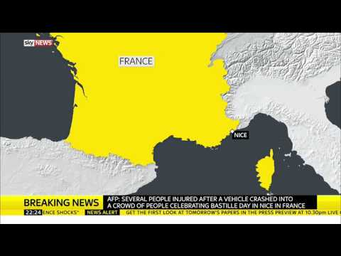 Breaking News: Several Injured In Nice, France