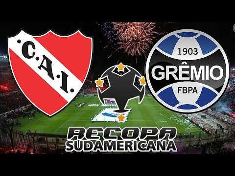 bab83b76a8 Independiente x Grêmio (14 02 2018) Recopa Sulamericana 2018 - Primeiro  Jogo  PES 2018