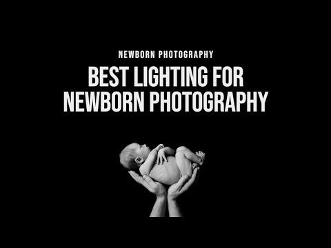 NEWBORN PHOTOGRAPHY | Best Lighting For Newborn Photography