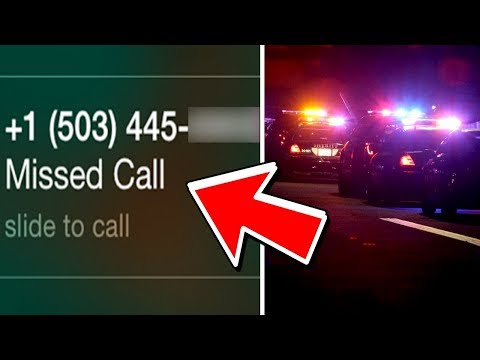 if this phone number calls you, call 911... (this is why)