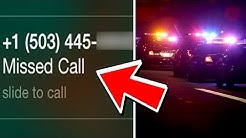 if this phone number calls you, call 911. (this is why)