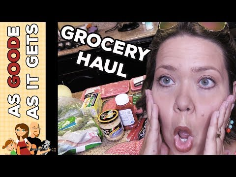Grocery Haul: Crock Pot Recipe Testing