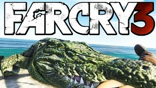 Far Cry 3 Funny Moments (Hunting Rare Albino Crocodile, Woman in Trouble)