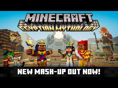 Minecraft Egyptian Mythology Mash-Up