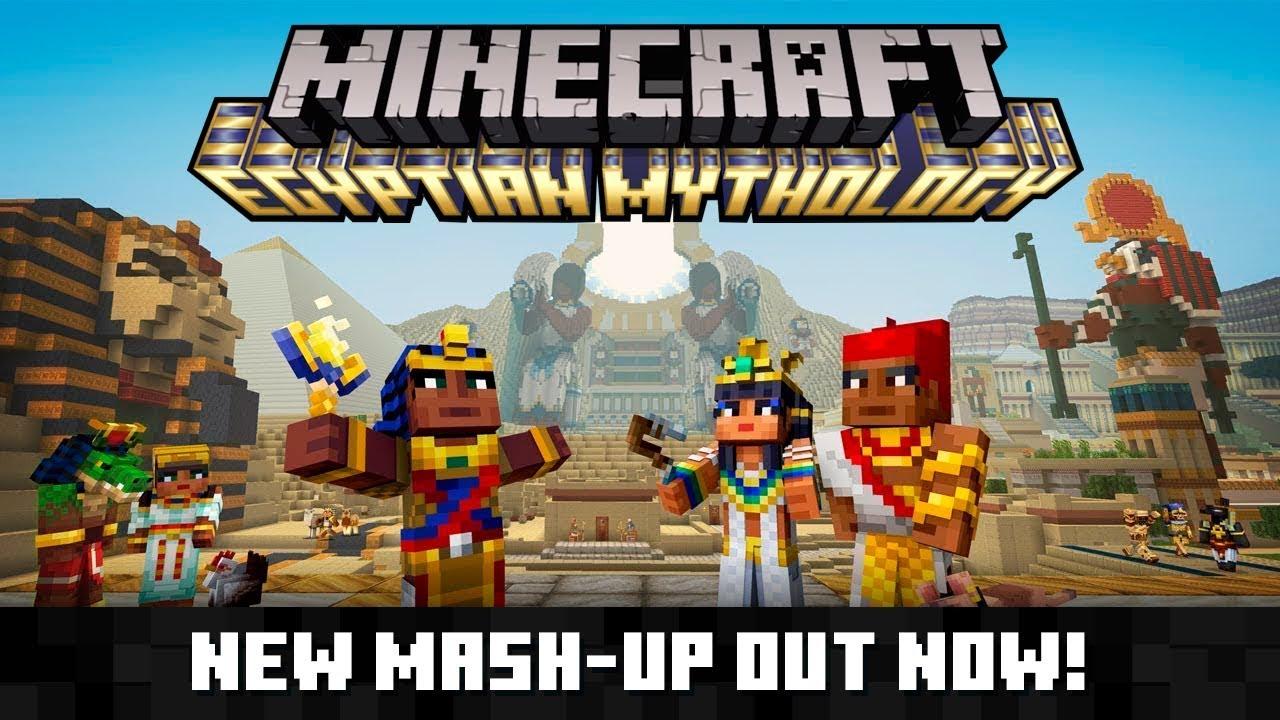Minecraft Egypt Map.Minecraft Egyptian Mythology Mash Up Youtube