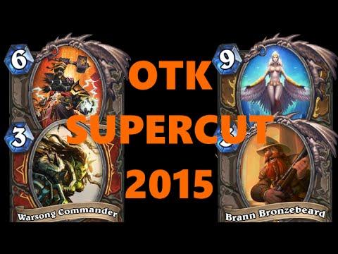 [Hearthstone] OTK Supercut 2015 (best OTKs of 2015)