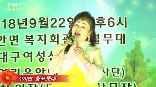 가수주서현/황포돗대/추석맞이가을음악회 초대가수