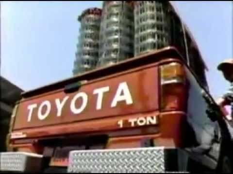 1986 Toyota 1 Ton Truck commercial - YouTube