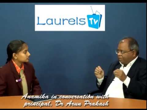 Laurel Anamika interviewing Principal