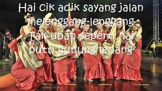 Download lagu Zapin Usik Mengusik Senario wmv MP3