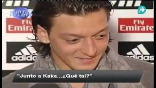 Hamit Altintop & Mesut Özil Interview - 01/28/2012