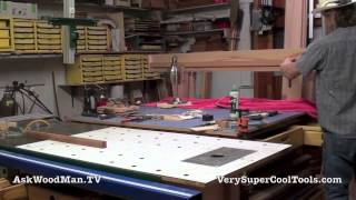 25 How To Build A Bed • Preparing The Slat Rail