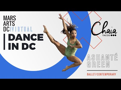 Marts Arts DC Virtual—Ashanté Green at Chaia Tacos | 202DC