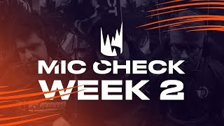 LEC Mic Check: Week 2 | Spring Split 2019