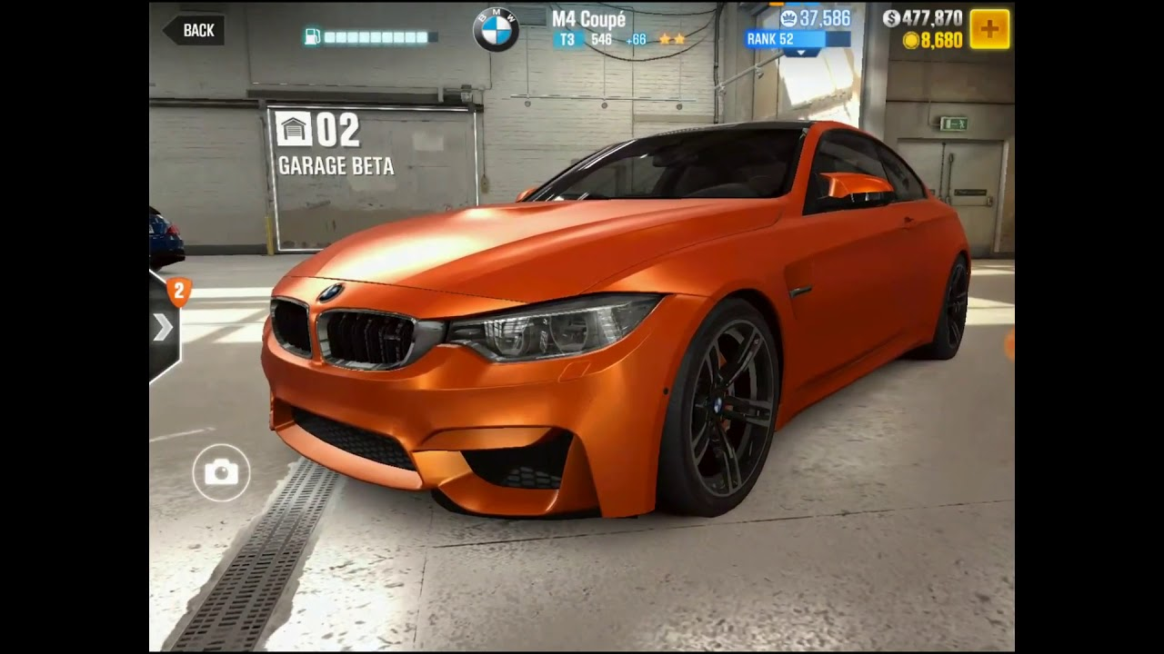 Csr2 Racing T3 Bmw M4 Coupé No Fusion Stage 5 Best Tune Youtube