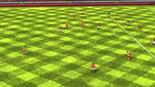 FIFA 14 iPhone/iPad - Manchester Utd vs. FC Barcelona
