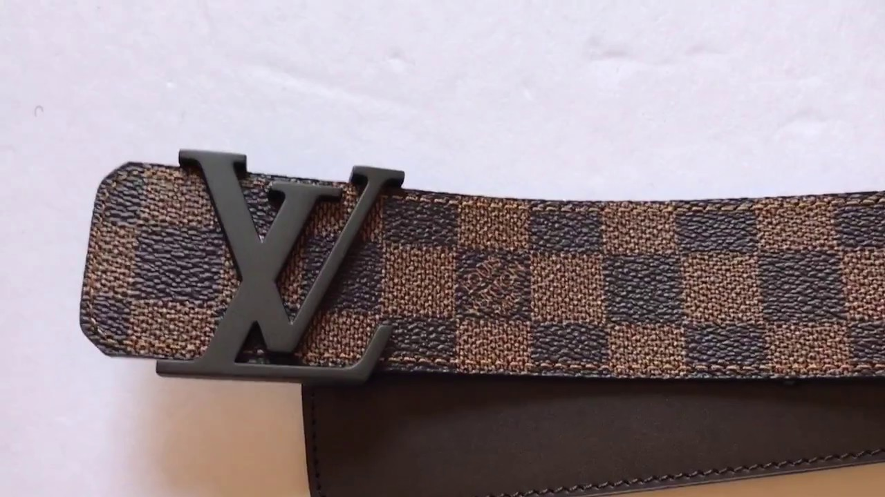 2e8e0300d09 louis Vuitton belt review Unboxing Ebene - YouTube