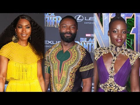 Black Panther Cast & Celebs SHUT DOWN Red Carpet Premiere In Royal Attire