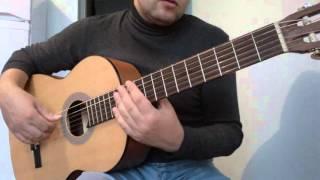 Уроки гитары.В.Цой-Следи за собой.Вступление
