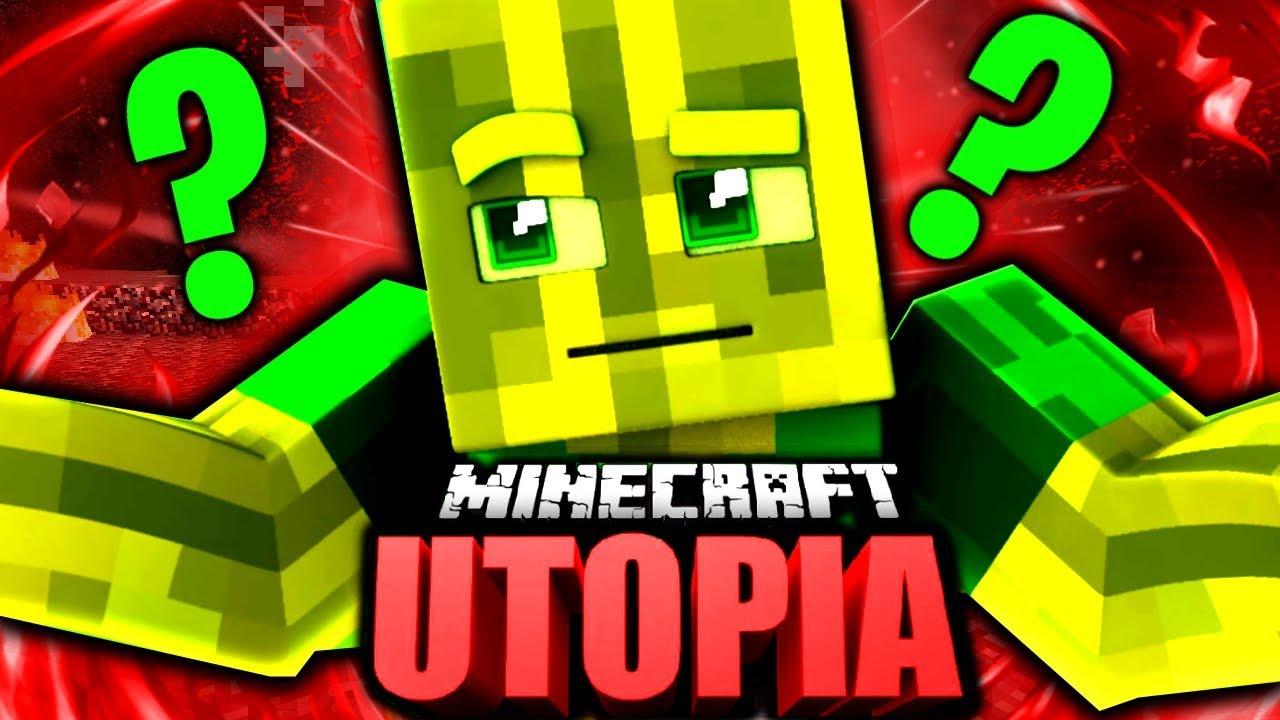 WIEDER IN MINECRAFT UTOPIA Minecraft Utopia Finale Adventure Map - Minecraft utopia spielen
