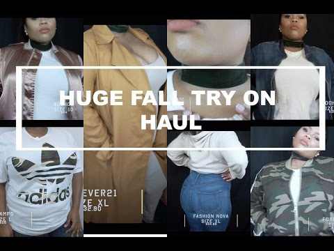 Fashion | Huge Fall Try On Haul | Boohoo, Nike, Forever21, Fashion Nova & more...