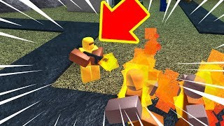 FLAME THROWER AT TD IN ROBLOX! #329