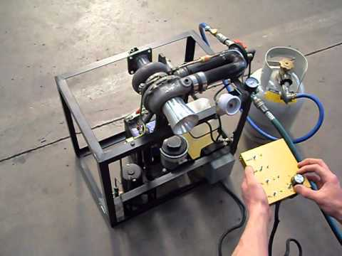 Small homebuilt gas turbine engine