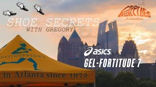 asics GEL-Fortitude 7 Review - Shoe Secrets with Gregory