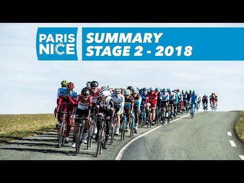 Summary - Stage 2 - Paris-Nice 2018
