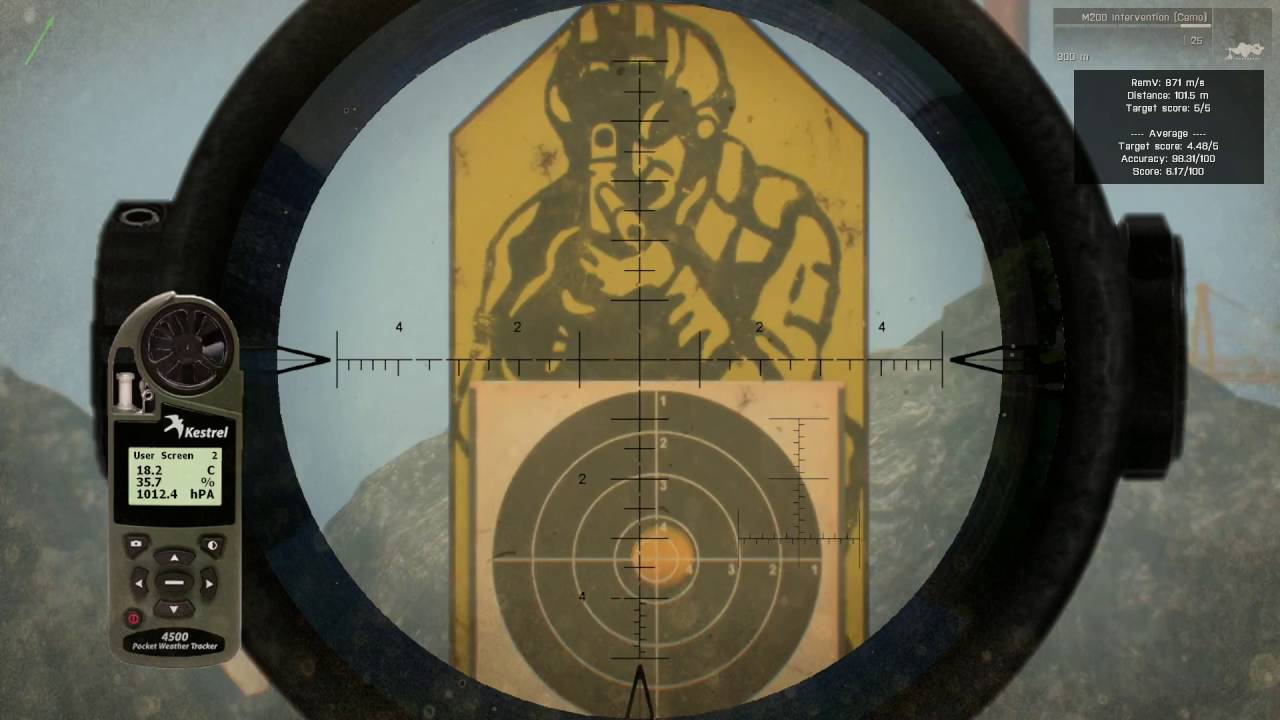 Precision & Accuracy Analysis of Arma 3 Rifles (with ACE3